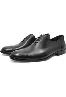 Sapato Mah Sinatra Social Couro Wholecut Oxford Sola De Couro Masculino - Masculino