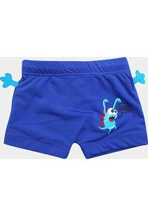 40eb384916 Sunga Boxer Infantil Tip Top Praia Monstro - Masculino