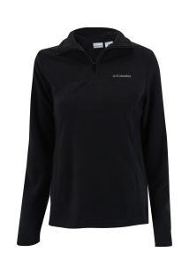 Blusão De Frio Fleece Columbia West Ridge Half Zip - Feminino - Preto