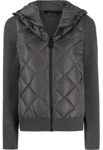 Canada Goose Zipped Quilted Jacket - Cinza