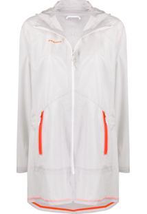 Mammut Hooded Contrast Pockets Jacket - Cinza