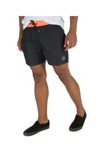 Bermuda O'Neill Volley 8772A - Masculina - Preto
