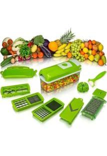 Kit Fatiador Cortador Ralador Manual Legumes Verdura Clink