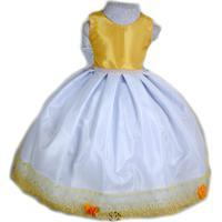 3a6b1ed4a31 Kanui. Vestido Liminha Doce Amarelo E ...
