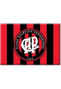 Imã Atlético Paranaense Fundo Colorido