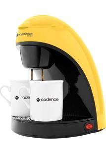 Cafeteira Elétrica Cadence Single Colors Amarela - 220V