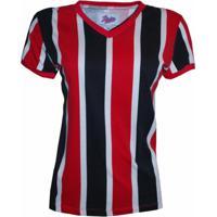 59e16ee495df5 Camisa Liga Retrô Listrado 1 - Feminino