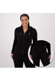 Agasalho Puma Clean Sweat Suit Cl Feminino - Feminino