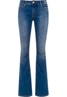 Amapô Calça Jeans New Boot Cut 'Braga' - Azul