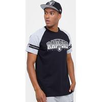 Camiseta Nfl Oakland Raiders New Era Vintage Masculina - Masculino 6c87ede2a85