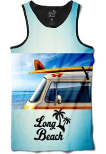 Camiseta Long Beach Regata Kombi Sublimada Masculina - Masculino-Azul b11785fd888
