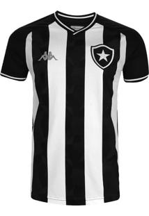 Camisa Kappa Botafogo Oficial I 2019/20 Preta