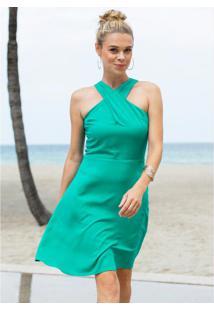 Vestido Godê Verde
