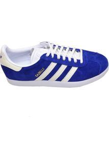 Tênis Masculino Casual Gazelle Adidas Azul Royal