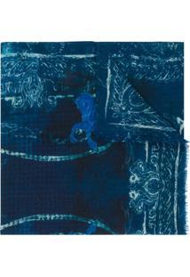 Etro Echarpe De Cashmere - Azul