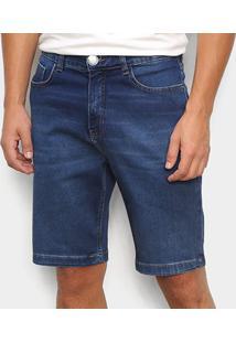 Bermuda Jeans Hering Tradicional Masculina - Masculino-Azul Claro