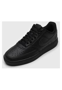 Tênis Nike Sportswear Court Vision Lo Preto