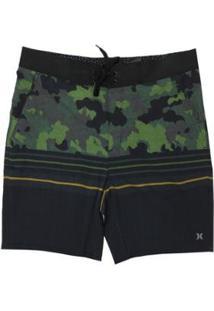 Bermuda Água Hurley Beachside New Army Masculina - Masculino