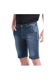 Bermuda 716 Jeans Slim Traymon Blue Black