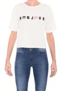 Camiseta M.Officer Ampla Feminina - Feminino