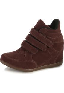 Tênis Sneaker Ana Lucia Al18-2002 Bordô