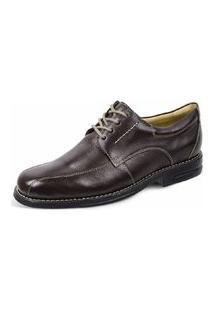 Sapato Social Sandro Moscoloni Benson Marrom Escuro