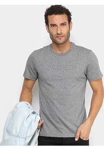 f0f65938f Camiseta Lacoste Logo Em Relevo Masculina - Masculino