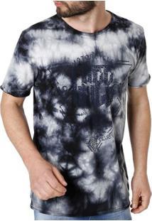 Camiseta Manga Curta Masculina Vels Azul 566cb154301
