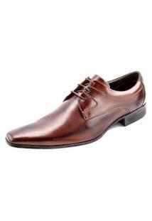 Sapato Confort Ettore, Ravena - Couro Preto Tabaco.