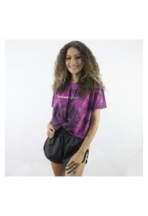Camiseta Anjuss Cropped Unico