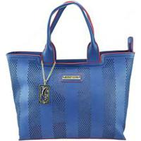 Bolsa Azul Decorativo feminina  a0716c861e4