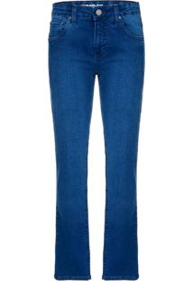 Calça Jeans Five Pockets Skinny - Marinho - 2