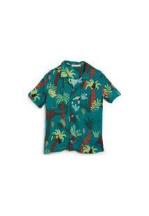 Camisa Festa Na Floresta Est Festa Na Floresta Verde Limao - 2