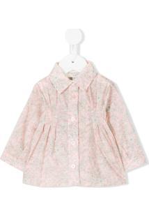Cashmirino Camisa Floral - Rosa