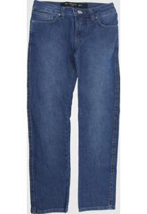 Calça Jeans Jeans Colcci Fun Infantil Estonada Azul