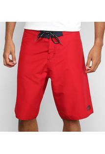 Boardshort Calvin Klein Masculino - Masculino-Vermelho