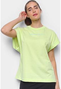 Camiseta Colcci Estampada Feminina - Feminino-Amarelo Escuro