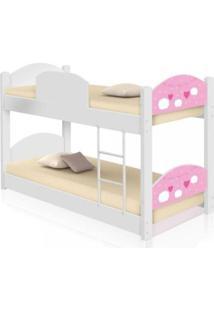 Beliche Infantil Nuvens Menina Casah - Branco/Rosa - Menina - Dafiti
