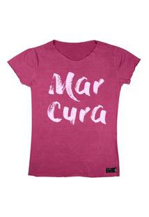 Camiseta Wss T-Shirt Feminina Mar Cura Chiclete