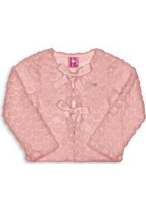 Casaco Hello Kitty Infantil Rosa