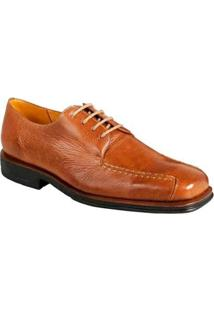 Sapato Social Derby Sandro Moscoloni Adams Masculino - Masculino-Marrom