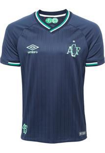 Camisa Umbro Chapecoense Oficial 3 2018 Nº10 Torcedor Azul