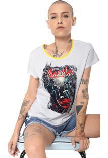 Camiseta Cavalera Girl Mad Max Branca