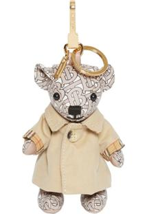 Burberry Trench Coat Thomas Bear - Neutro