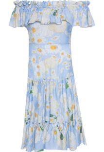 Vestido Santo Domingo - Azul