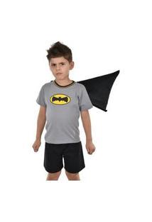 Pijama Infantil Estampa Batman Rlc Modas