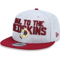 Boné 950 Washington Redskins Nfl Aba Reta New Era - Masculino-Mescla Claro 8a552a930ae