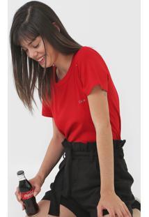 Camiseta Coca-Cola Jeans Logo Vermelha - Kanui