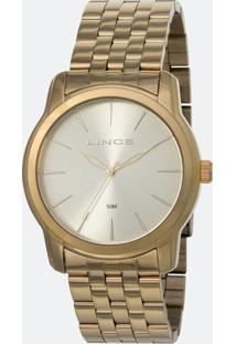 Kit Relógio Feminino Lince Lrg4551L-Ku88C1Kx Analógico 5Atm + Pulseira