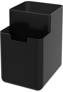Organizador De Pia Single 8X10,5X12,1Cm Preto - 17010/0008 - Coza - Coza